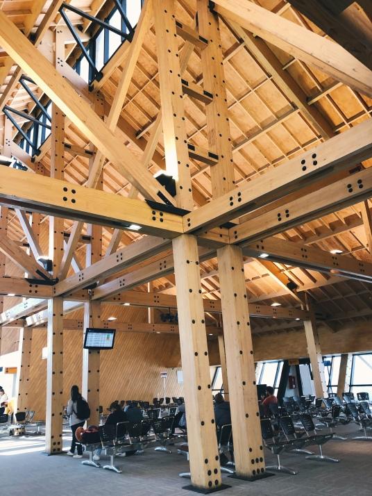 Sala de Embarque do Aeroporto de Ushuaia